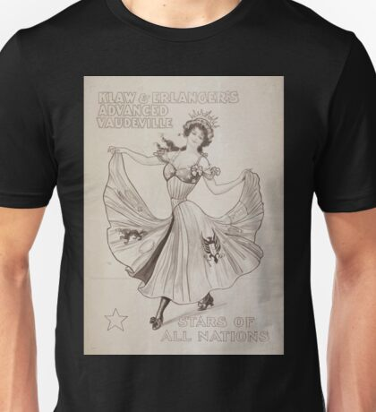 Performing Arts Posters Klaw Erlangers Advanced Vaudeville 0351 Unisex T-Shirt