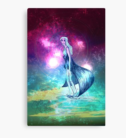 The Spacewalker Canvas Print