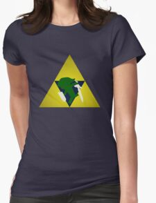 Triforce Toon Link Womens Fitted T-Shirt