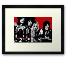 Motley Lost Boys Framed Print