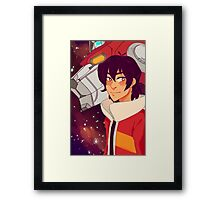 Voltron - Keith Framed Print