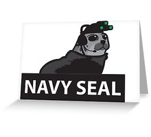 Navy seal  Greeting Card