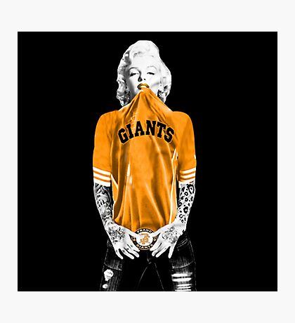 Marilyn Monroe For San Francisco Giants Photographic Print