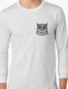 Owl Vector Long Sleeve T-Shirt