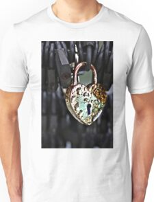 Where's the Key to Love? Unisex T-Shirt