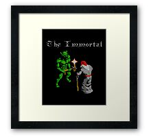 THE IMMORTAL - NES CLASSIC GAME Framed Print