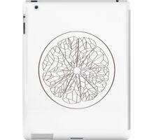 Ruby Red Grapefruit - Outline iPad Case/Skin
