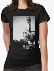Prison Tower Womens Fitted T-Shirt