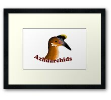 azhdarchids are awesome  Framed Print