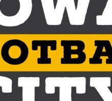 Iowa City Football Sticker