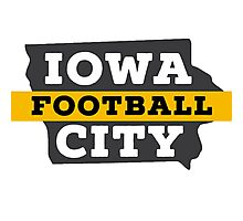 Iowa City Football Photographic Print