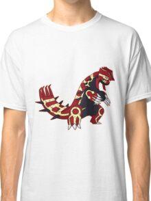 Pokemon - Primal Groudon Classic T-Shirt