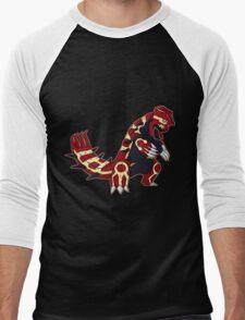 Pokemon - Primal Groudon Men's Baseball ¾ T-Shirt