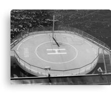 Ship Helicopter Pad Metal Print