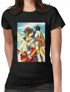 Tsubasa Reservoir Chronicle Womens Fitted T-Shirt