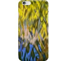 Mojave Gold Mosaic Abstract Art iPhone Case/Skin