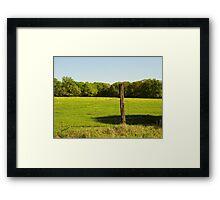 Prairie Pasture Framed Print