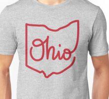 OHIO State Script Unisex T-Shirt