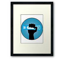 Wii Gamer Framed Print