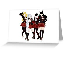 Team RWBY Greeting Card