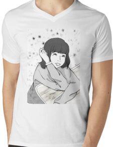 Tsuki in comics Mens V-Neck T-Shirt
