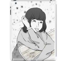 Tsuki in comics iPad Case/Skin