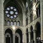 North transept Cathedral Laon France 198405070040 by Fred Mitchell