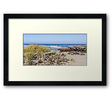 Peaceful Pacific Framed Print