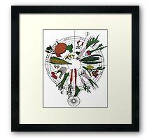 Vegetables 2 Framed Print