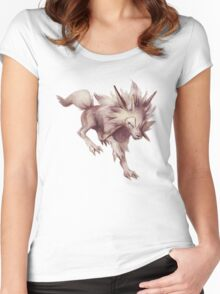 Bathed in sunlight Women's Fitted Scoop T-Shirt