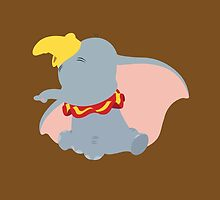 Dumbo Illustration by realGabe