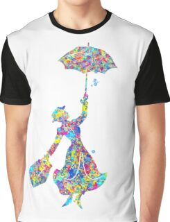Mary Poppins - The Magical Nanny Graphic T-Shirt
