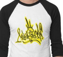 michoakan letras  Men's Baseball ¾ T-Shirt