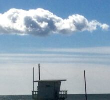 Venice' s cloud. Sticker