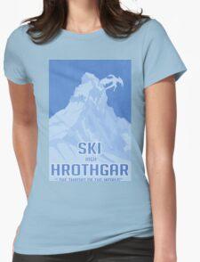 Ski Hrothgar Womens Fitted T-Shirt