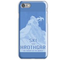 Ski Hrothgar iPhone Case/Skin