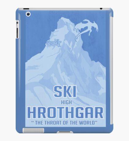 Ski Hrothgar iPad Case/Skin