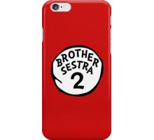 Brother Sestra 2 - Orphan Black iPhone Case/Skin