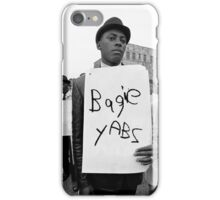 bagie yabs protest iPhone Case/Skin