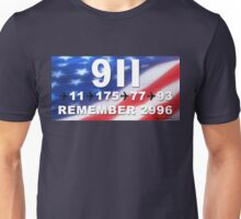 9-11 Numbers Unisex T-Shirt