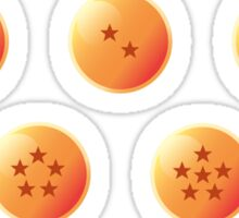 7 Dragon Balls Stickers Sticker