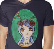 Spring Fawn Mens V-Neck T-Shirt