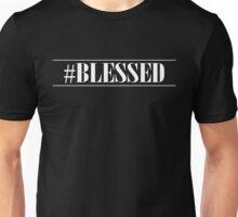 Hashtag Blessed Christian Design Unisex T-Shirt