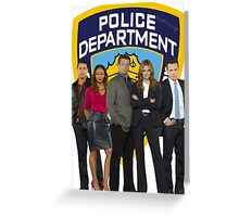 12th Precinct Team Greeting Card