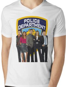 12th Precinct Team Mens V-Neck T-Shirt
