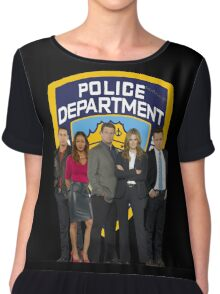 12th Precinct Team Chiffon Top
