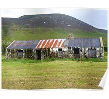 The Barns Of Urris.................................Ireland Poster