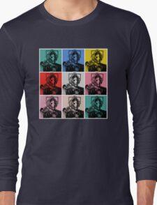 Cybermen Warhol Long Sleeve T-Shirt