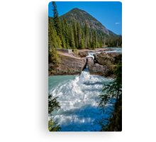 Natural Bridge Yoho National Park Canada Canvas Print