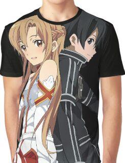 Asuna & Kirito Graphic T-Shirt